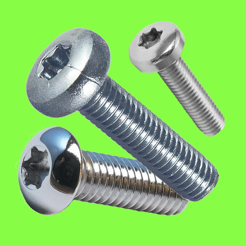 Hexalobular /Torx large button head screw