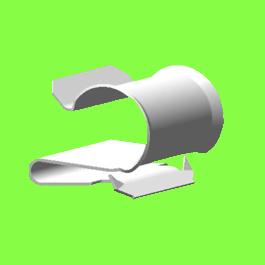 Metal Edge Clip For 1 Tube