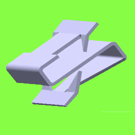 S Clip Double