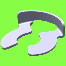 C Clip For Grooved Shafts
