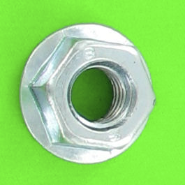 Slotted Flange Nut