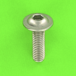 Hex Socket Button Head Collar Screw, A2 Stainless Steel
