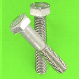 White 8.8 Zinc Steel