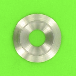 Solid Countersunk Washer, Chromium Steel, NFE 27619