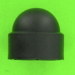 Black Polyethylene Cap Nuts