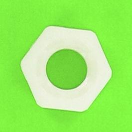 Natural Nylon Hexagon Nut PA6-6 DIN 555 DIN 934