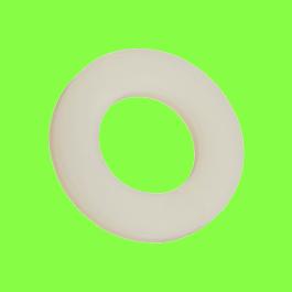Natural Nylon PA6,6 DIN 125 Flat Washer