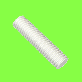 Natural Nylon Pa6,6 DIN 975 Thread Rod