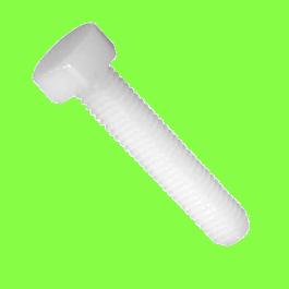 Hex Head, 6.6 PA, Fully Threaded, DIN 933