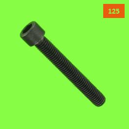 Hex Socket Round Head, DIN 912, 125 Thread