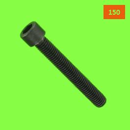 Hex Socket Round Head, DIN 912, 150 Thread
