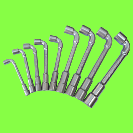 Angled open Socket Wrenches