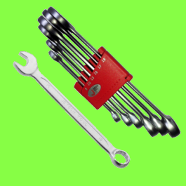 Plated chrome Spanners