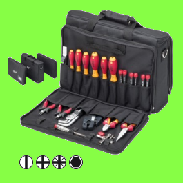 Electric technicians Tool set service, 29 pieces