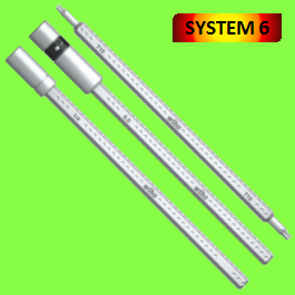 SYSTEM 6 Bit Holders, reversible blades, extension blades
