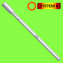 SYSTEM 6 Bit Holder, suitable for C 6.3 and E 6.3 (1/4'') bits