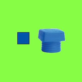 Safety Soft hammer , blue soft square face
