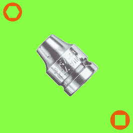 Connector with retaining ring, style G 6,3 + G 10 + G 12,5