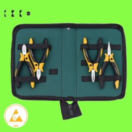 Professional ESD pliers set, 4 pieces