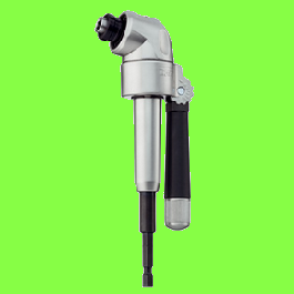 High-performance offset screwdriver, 105° angled head
