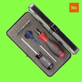 Mechatronic TorqueVario S Screwdrivers Set - 13 pieces