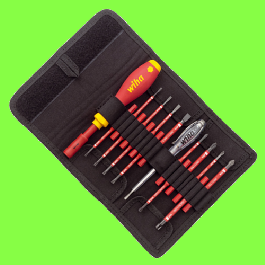 SoftFinish Electric SlimVario Screwdriver Starter Set - 16 pieces