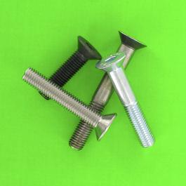 Countersunk Head Hex Socket Screws (82° countersink