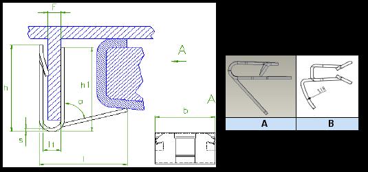 Araymond - Metal Panel Clips
