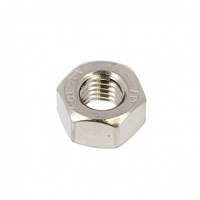 Thick Hex Nut, Hh, A4 Stainless Steel, UNI 5587