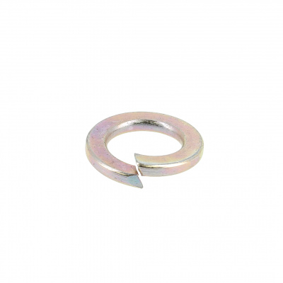 Spring Washers yellow zinc plated steel 44-51 HRC