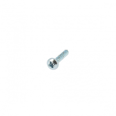 Eco-Syn for Pozidriv Button Head, Thermoplastic, White Zinc Steel