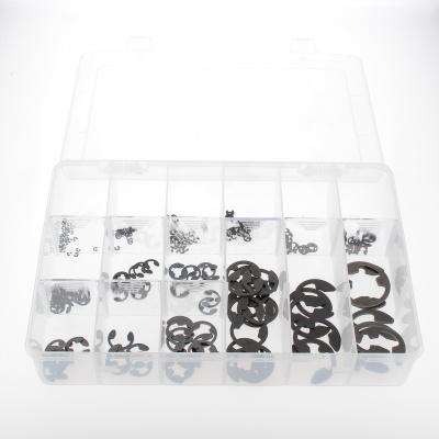 Pack of Assorted Shoulder Clamps, Black Steel, DIN 6799