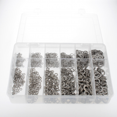 Pack of Assorted Flat Washers, W + AZ, A2 Stainless Steel