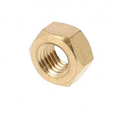 Hex Nut, Hu, Brass, DIN 934