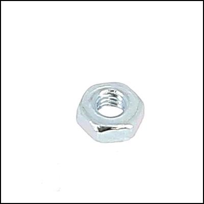Hex Nut, Hu, Class 6 White Zinc Steel, DIN 934