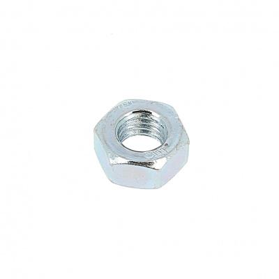 Hex Nut, Hu, Class 8 White Zinc Steel, DIN 934