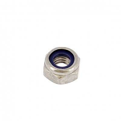 Nylstop Nut, A4 Stainless Steel, DIN 985