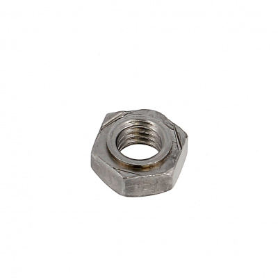 Square Weld Nut, H, Steel, DIN 929