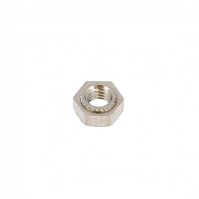 Hex Crimp Nut, A2 Stainless Steel