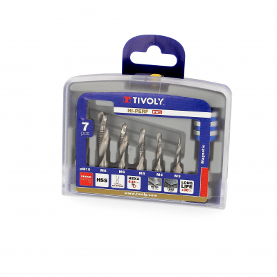 Set of 6  threading drills
