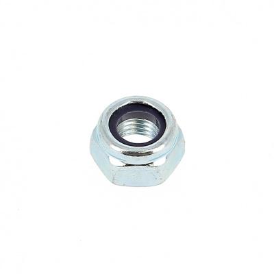 Nylstop Self-locking Hex Nut 150 White Zinc Steel