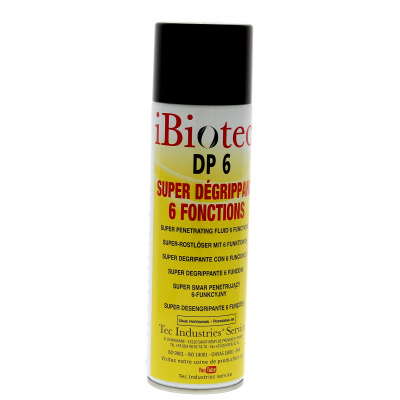 DP6 Penetrating, lubricant, tap remover, cleaner spray in aerosol