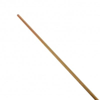 Threaded Rod, Yellow Zinc 4.6 Steel, DIN 975