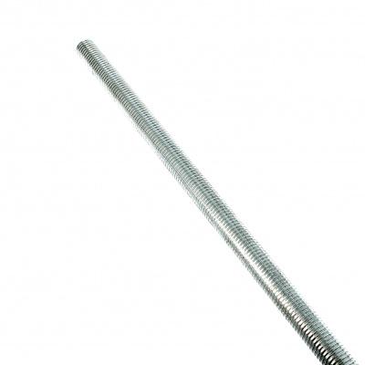 Threaded Rod, White Zinc 4.6 Steel, DIN 975