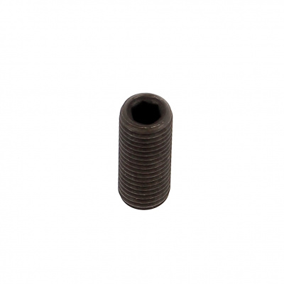 Flat Point, Black 14.9 Steel, DIN 913, 100 Thread