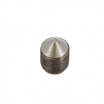 Cone Point, Black 14.9 Steel, DIN 914, 125 Thread