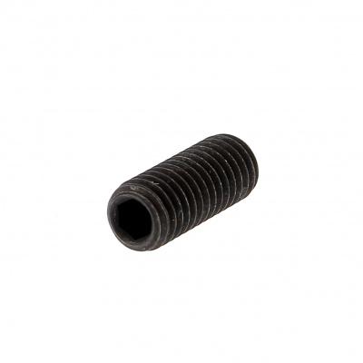 Hex Socket Headless, Cup Point, Black 14.9 Steel, DIN 916