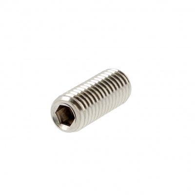 Hex Socket Headless, Flat Point, A4 Stainless Steel, DIN 913