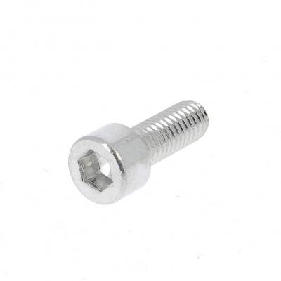 Blister pack of 5 Hex Socket Round Head Screws, P60 OA Aluminium421