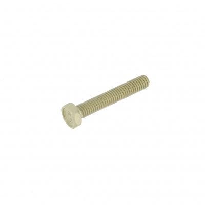 Hex Head, P60 OA Yellow Aluminium, Fully Threaded, DIN 933